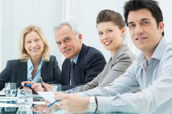 Smiling Business People Royalty Free Stock Image