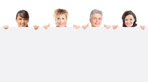 Smiling business people. Royalty Free Stock Image