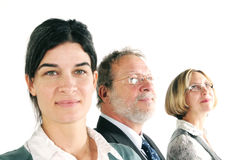 Smiling business team Stock Image
