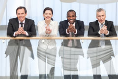 Smiling business team Stock Photography