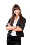 Smiling business woman Royalty Free Stock Photos