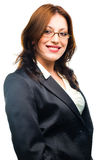 Smiling business woman. Stock Photos