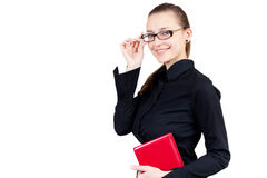 Smiling business woman. Stock Images