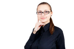 Smiling business woman. Royalty Free Stock Photos