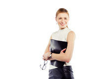 Smiling business woman Royalty Free Stock Image