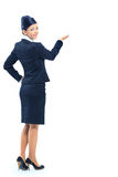 Smiling business woman royalty free stock photo