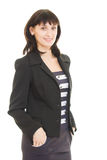 Smiling business woman Stock Photos
