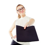 Smiling business woman Royalty Free Stock Photography