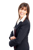 Smiling business woman. Stock Photos