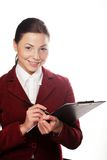 Smiling business woman. Stock Photo