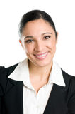 Smiling business woman portrait Royalty Free Stock Image