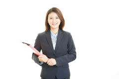 Smiling business woman Stock Image