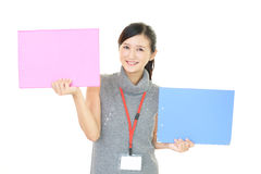 Smiling business woman Stock Photography