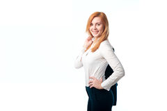 Smiling business women Royalty Free Stock Images