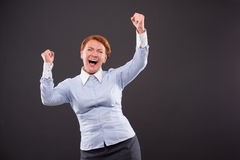 Smiling businesslady Royalty Free Stock Photography