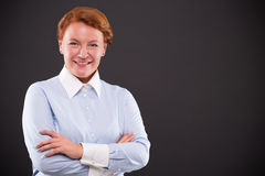 Smiling businesslady Royalty Free Stock Photo