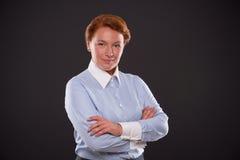 Smiling businesslady Royalty Free Stock Image