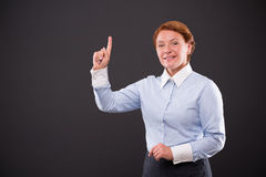Smiling businesslady Royalty Free Stock Photos