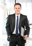 Smiling businessman Royalty Free Stock Photo