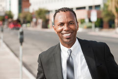 Smiling Businessman Royalty Free Stock Image