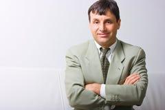 Smiling businessman  Stock Photo