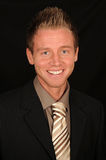 Smiling businessman Stock Images