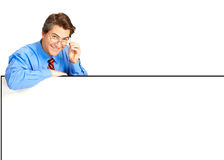 Smiling businessman Stock Photography