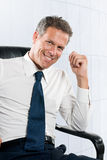 Smiling businessman Royalty Free Stock Photography