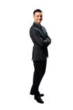 Smiling businessman with arms folded Royalty Free Stock Images