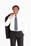 Smiling businessman looking at the camera Royalty Free Stock Photography