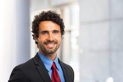 Smiling businessman portrait Stock Photography