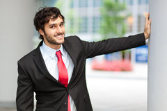 Smiling businessman portrait Royalty Free Stock Images