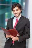 Smiling businessman portrait Royalty Free Stock Photo