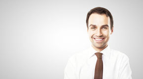 Smiling businessman Royalty Free Stock Photos