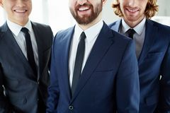 Smiling businessmen Stock Photography