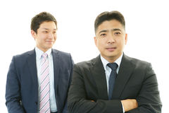 Smiling businessmen Royalty Free Stock Photo