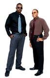 Smiling businessmen posing Royalty Free Stock Images