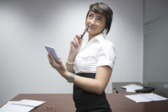Smiling businesswoman Royalty Free Stock Photo