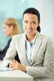 Smiling businesswoman Stock Image