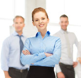 Smiling businesswoman Royalty Free Stock Images