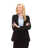 Smiling businesswoman Stock Image