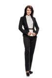 Smiling businesswoman in formalwear Stock Image