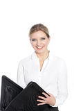 Smiling businesswoman Stock Photos
