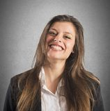 Smiling businesswoman Stock Photography