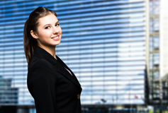 Smiling businesswoman portrait Royalty Free Stock Photos