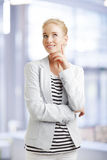 Smiling businesswoman Royalty Free Stock Image