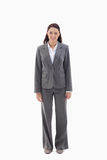 Smiling businesswoman standing Royalty Free Stock Photo