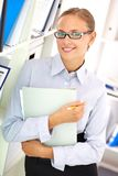 Smiling businesswoman Royalty Free Stock Photos