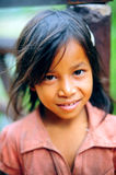 Smiling Cambodian girl Stock Photos