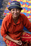 Smiling cambodian woman Stock Photography
